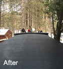 Foam Deck Roof After